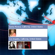 Facebook arkadaşlarınızı haritada görün