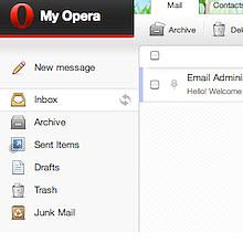 Opera, yeni e-posta hizmetini kullanıma açtı!