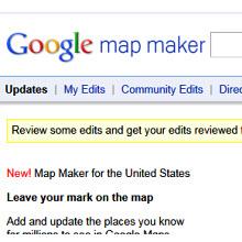 Google Map Maker genişletildi!