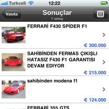 Sahibinden.com iPhone uygulamasına yoğun ilgi!