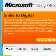 Microsoft Türkiye Blog'u yayında!