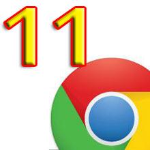 Chrome 11 kararlı sürüm yayınlandı!