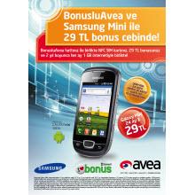 Avea'dan özel Galaxy Mini kampanyası!
