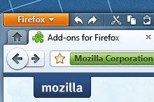 Firefox 5, 6 ve 7'den konsept ekran görüntüleri!