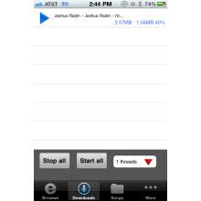 Apple'dan MP3 indirme uygulamasına engel!