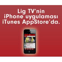 Lig TV'den iPhone uygulaması!