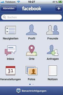 iPhone için Facebook
