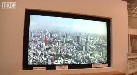 Dünyanın en yüksek çözünürlüklü LCD TV'si o!