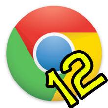 Chrome 12 hazır, İndirin!