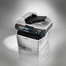 Az yer kaplayan, çok işlev gören fotokopi makinesi