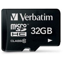 Cep telefonları için Micro SDHC kartlar