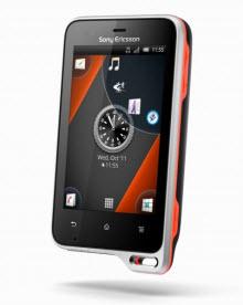 Sony Ericsson Xperia active ve Sony Ericsson txt