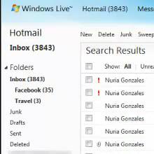 Hotmail'e yeni özellikler eklendi!