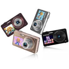 Samsung'dan ön LCD animasyonlu fotoğraf makinesi!