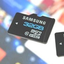 Samsung, cep SD kartlarının hızını ikiye katladı!