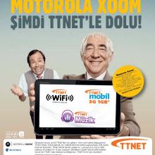TTNet'ten Motorola Xoom tablet fırsatı!