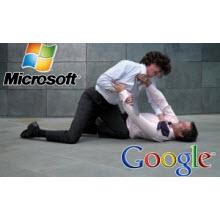 Microsoft Google'a fena salladı!