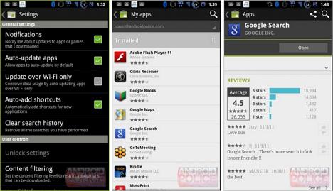 Yeni Android Market sızdı! Deneyin