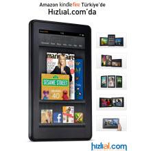 Amazon Kindle Fire Türkiye'de satışta!