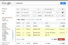 Google'ın uçuş arama servisi hizmete girdi