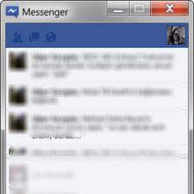 Windows için Facebook Messenger'ı şimdi indirin!