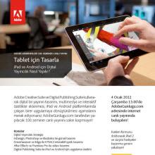 Adobe'un iPad dersi canlı yayında!