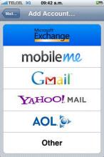 E-posta, takvimler, medya ve eşitleme