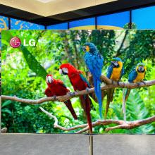 LG, dev OLED TV'sini CES'de tanıtacak!