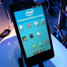 Intel'den Atom işlemcili ilk cep telefonu!