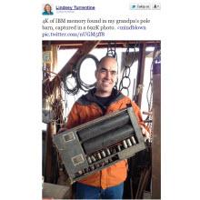 IBM'in antika belleğinin kapasitesi şaşırttı!
