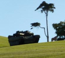 Kafaları karıştıran esrarengiz tank