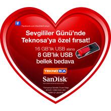SanDisk ve TeknoSA'dan kampanya!
