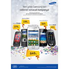 Samsung ceplerde önemli indirim!
