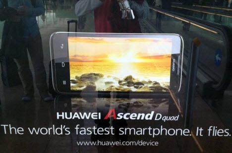 """""""Dünyanın en hızlı cebi"""" Ascend D tanıtıldı!"""