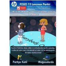HP, ilk ultrabook'unu Facebook'da kutluyor!