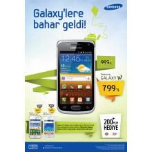 Samsung Galaxy'lerde bahar indirimi!