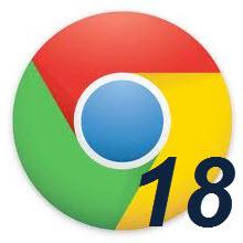 Chrome 18 final sürümü yayında, indirin!