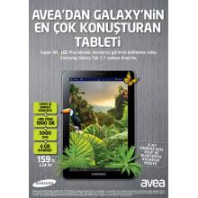 Yeni Galaxy Tab 7.7 Türkiye'de!