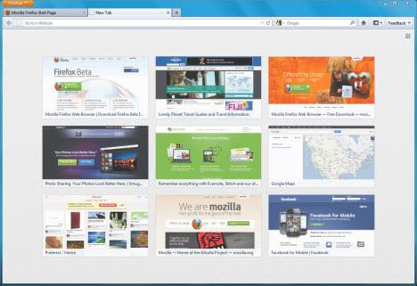 Firefox 13 beta'daki yenilikler!