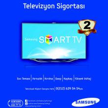 Smart TV'nizin sigortası Samsung'dan hediye!