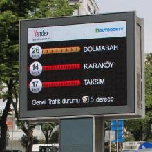 İstanbul sokaklarında anlık trafik bilgisi!