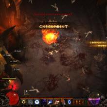 Diablo III, internete bağlı bir yapıya sahip
