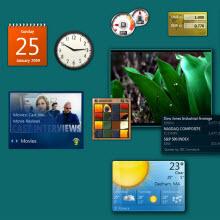 Masaüstü araçları, Windows 8'de olmayabilir