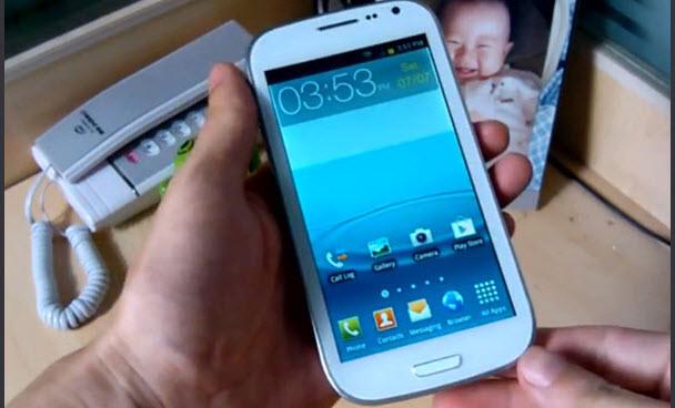 Bu da çakma Galaxy S3