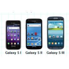 Galaxy S, S II ve S III ekranları karşı karşıya