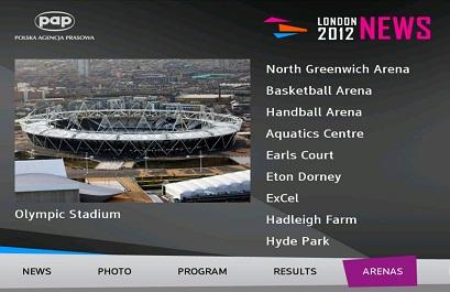 Londra Olimpiyatları'na özel uygulama