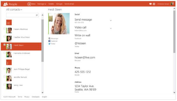 Outlook.com'un sunduğu diğer yenilikler ve fazlası