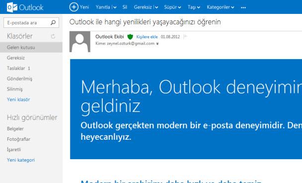 Outlook.com neden daha iyi?