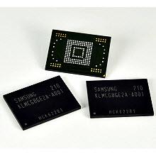 Samsung'un 4 kat daha hızlı bellek çipleri yolda