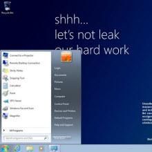 Windows 8'in x86 ve x64 sürümleri de sızdı